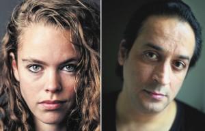 Nina Polak en Hafid Bouazza