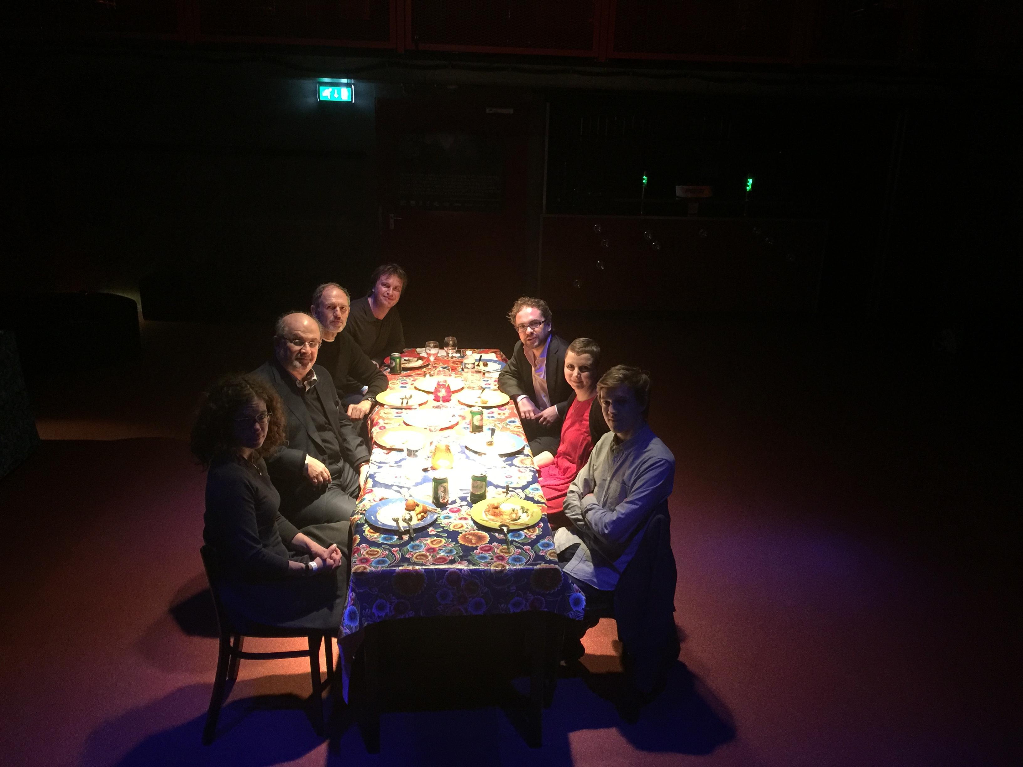 Rushdie-diner