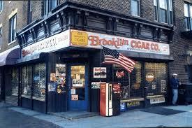 De sigarenwinkel uit de film Smoke (1995).